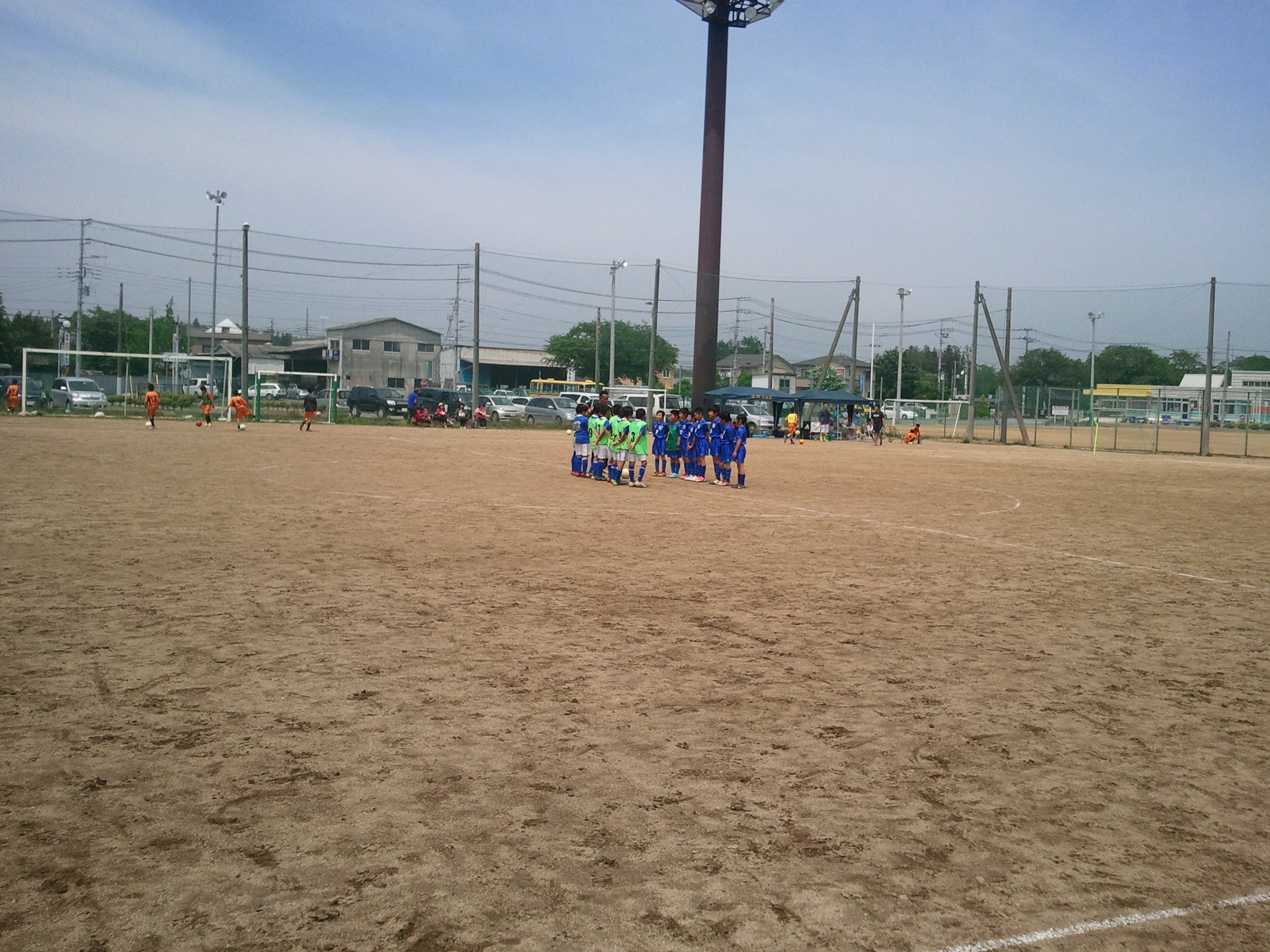 (U-12)トレーニングマッチ