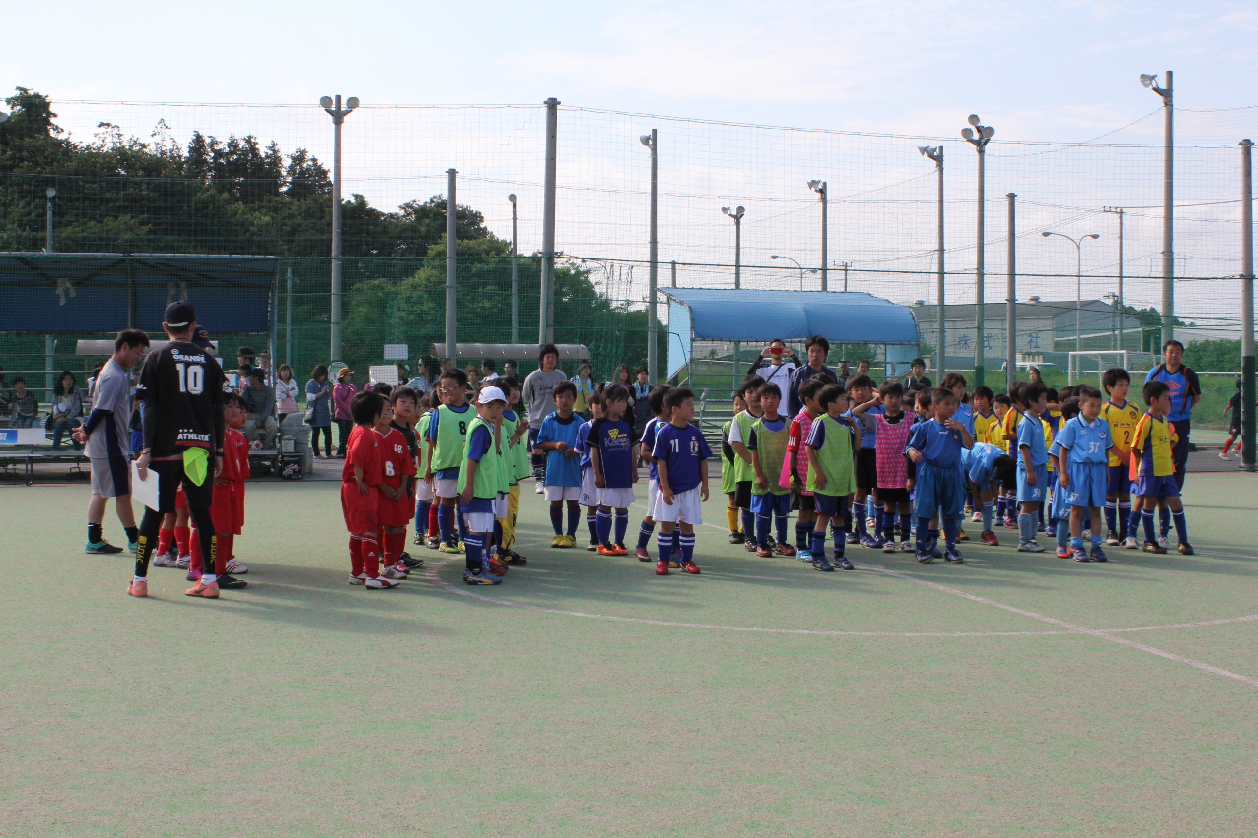 第2回クレアティーボカップ(U-8)