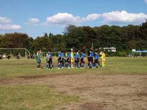 学年別県大会低学年1次リーグ(対新治SC、中SSS)