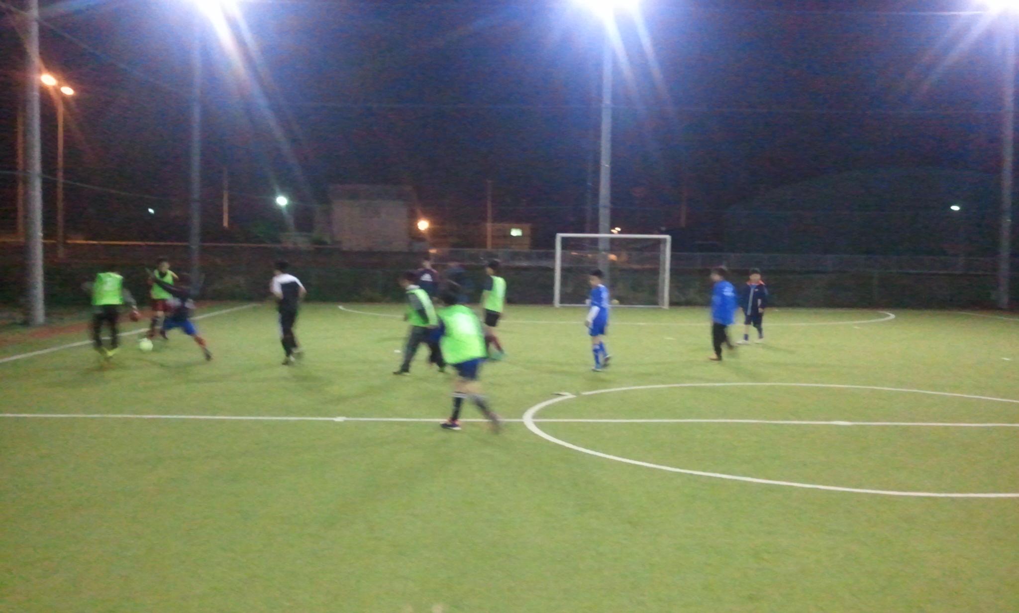 サッカースクール体験練習