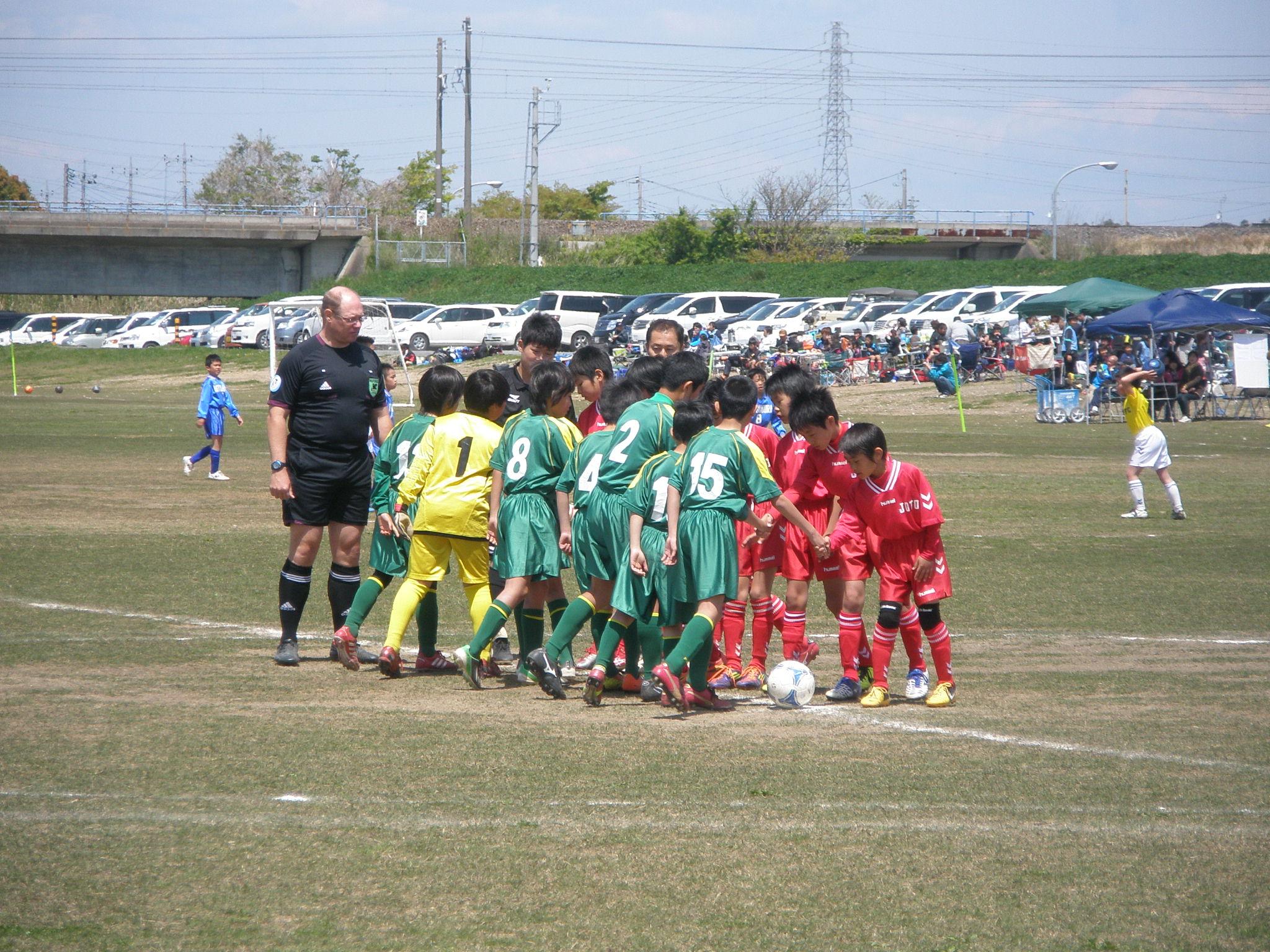 全日本少年サッカー大会中央地区1次リーグ対城東SSS戦