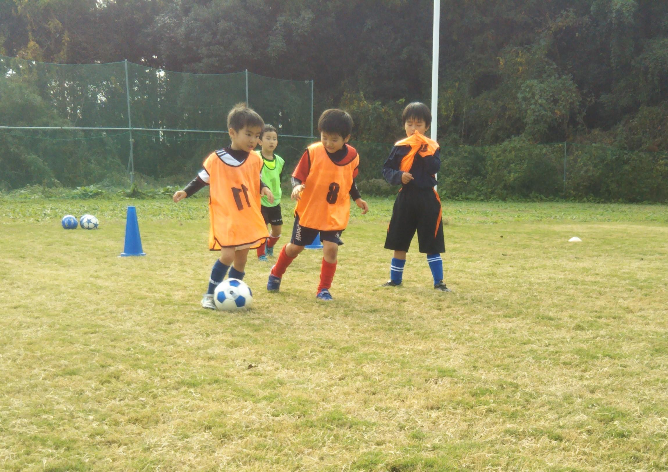 小美玉市 園児向けキッズサッカースクール